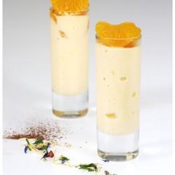 1.2 Mousse de mandarina helada